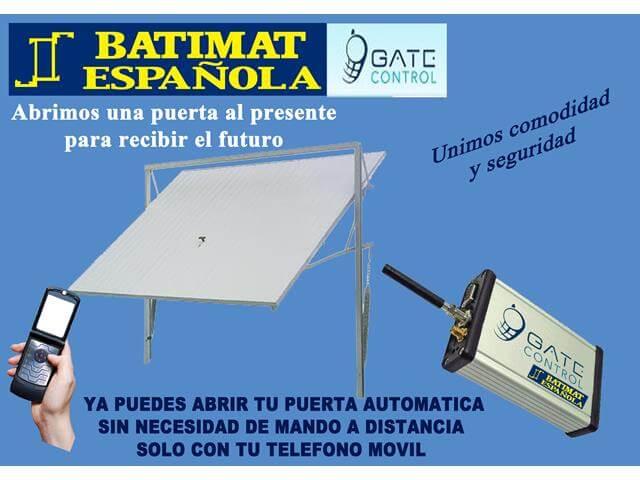 Automatismo en m laga ver cat logo online batimat espa ola for Puertas kiuso telefono