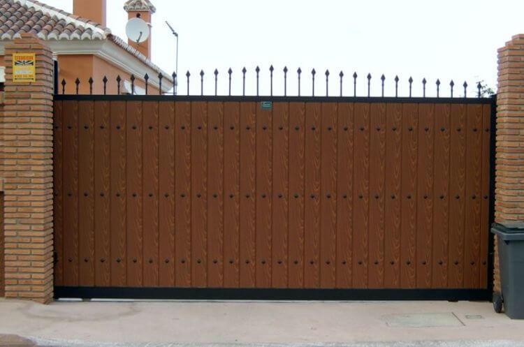 Puertas autom ticas correderas m laga batimat sl - Puertas exterior malaga ...