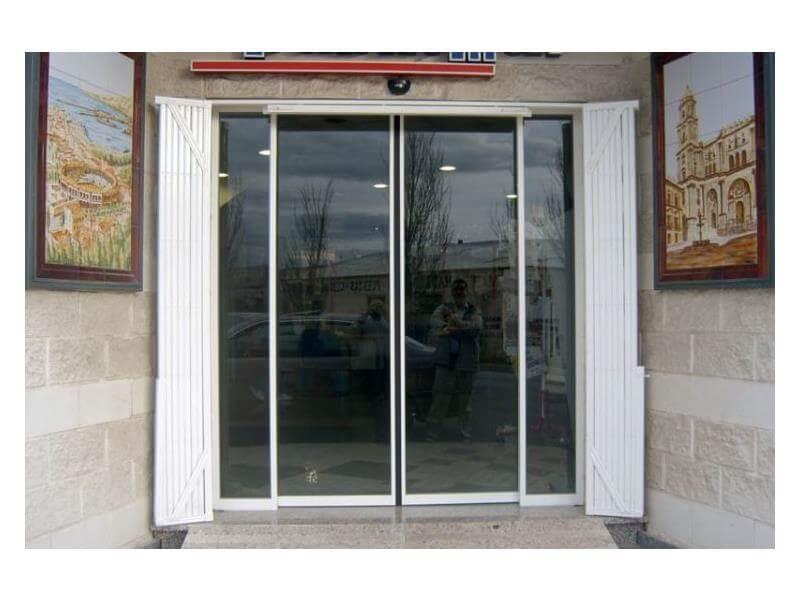 Puertas met licas batimat espa ola suministro for Puertas metalicas entrada principal