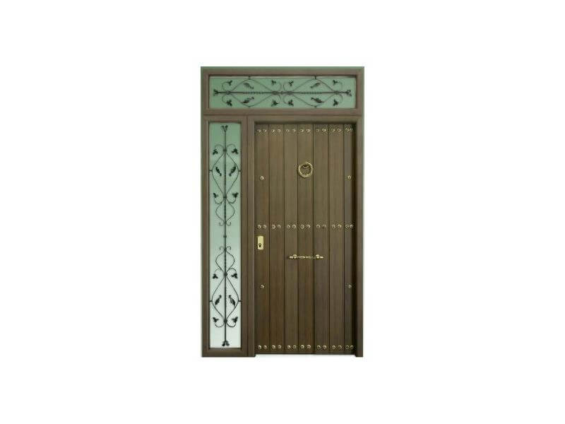 Puertas met licas batimat espa ola suministro - Puertas exterior malaga ...
